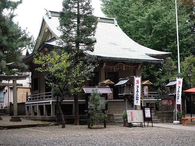 上目黒氷川神社