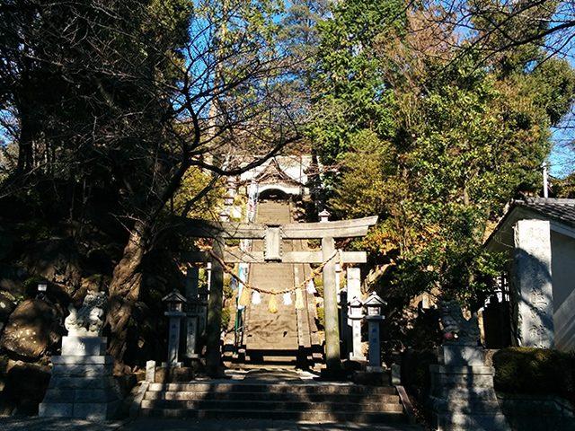 師岡熊野神社写真