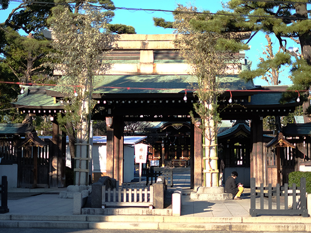 六郷神社写真