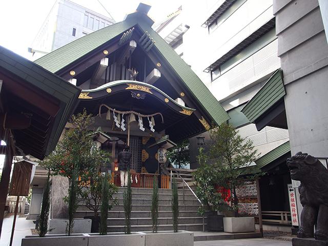 築土神社写真