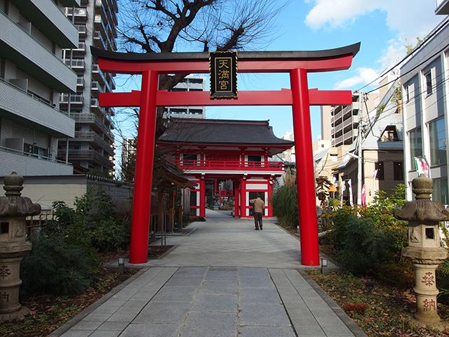 成子天神社写真