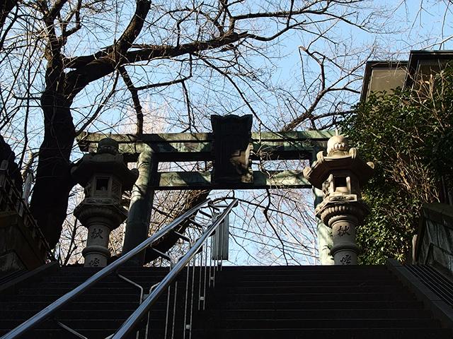 市谷亀岡八幡宮写真