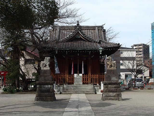 萩中神社写真