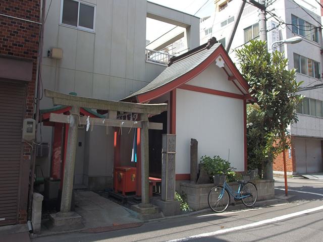 加賀美久米森稲荷神社写真