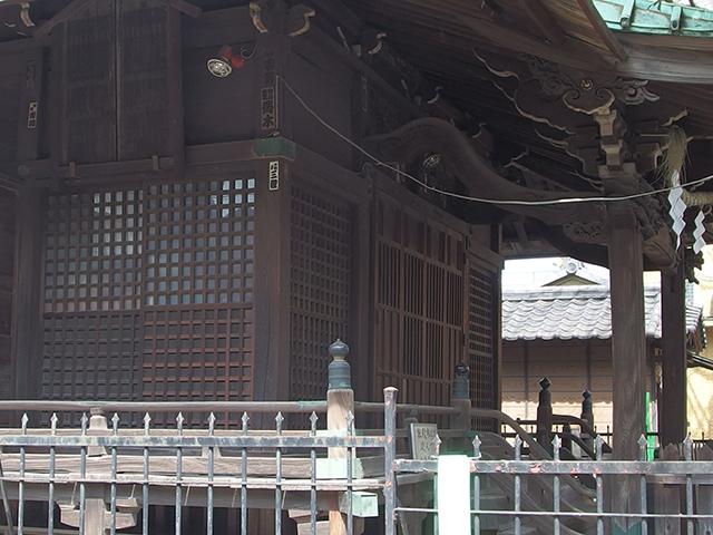 南品川諏方神社写真