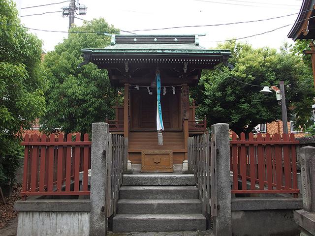 大森諏訪神社写真