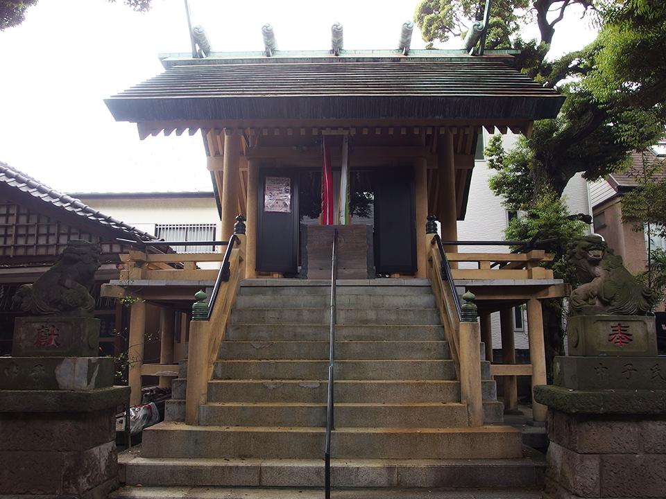 第六天根岸神社