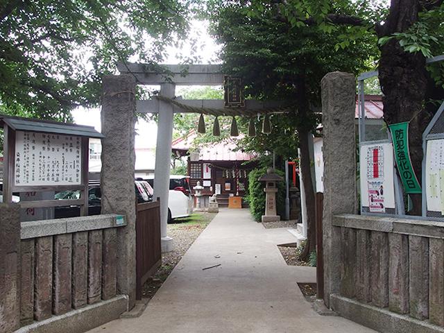 染井稲荷神社写真