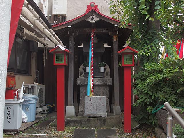 田端水神稲荷神社写真