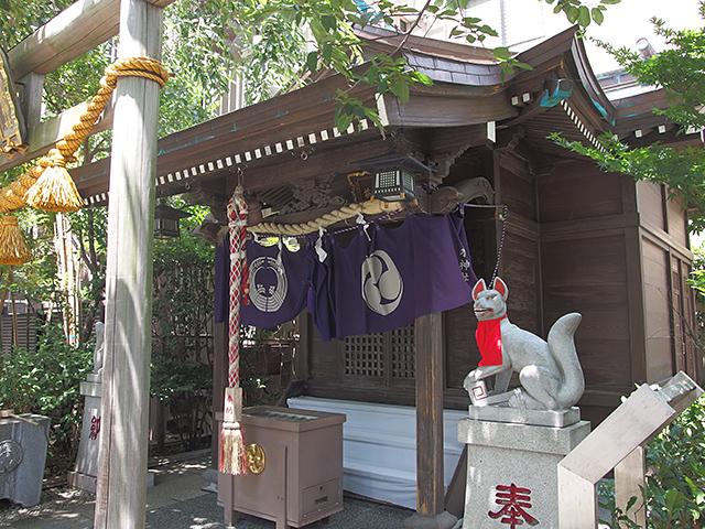 茶ノ木神社写真