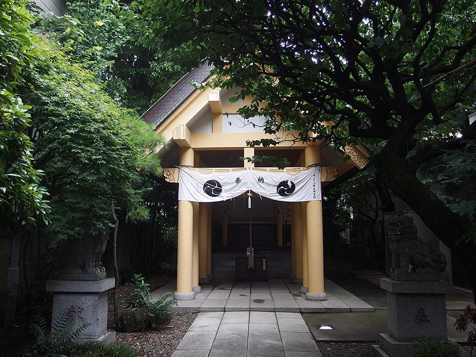 天祖神社(新宿区早稲田鶴巻町)