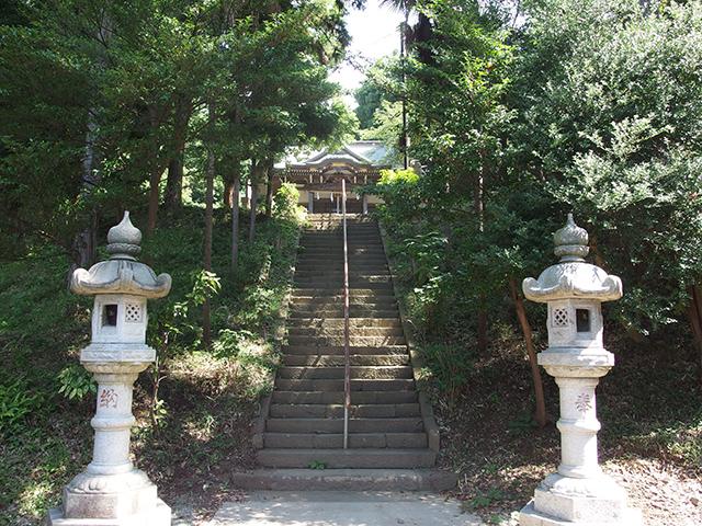 西八朔杉山神社写真