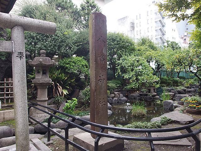 八幡神社(台東区御徒町公園内)写真