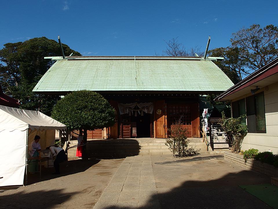 杉山神社(横浜市鶴見区)