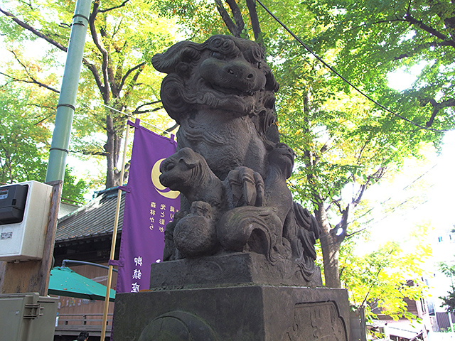 戸越八幡神社写真