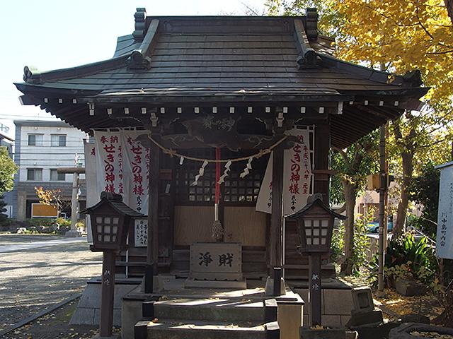 川中島神明神社(川崎市川崎区川中島)写真
