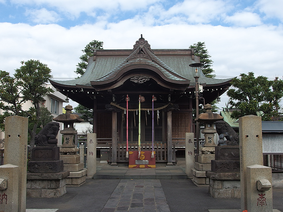 大島八幡神社(川崎市)