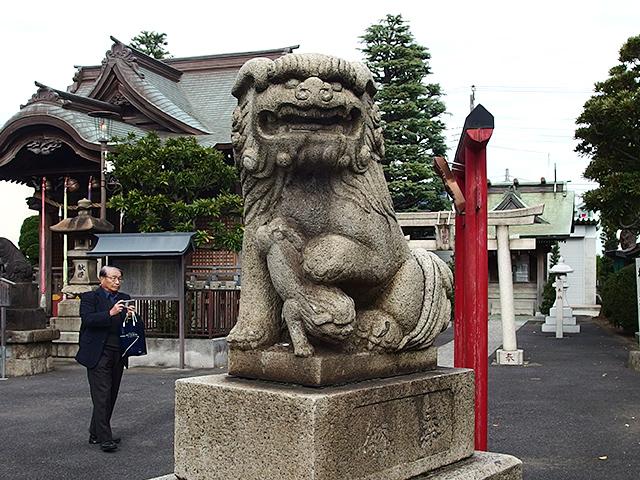 大島八幡神社(川崎市)写真