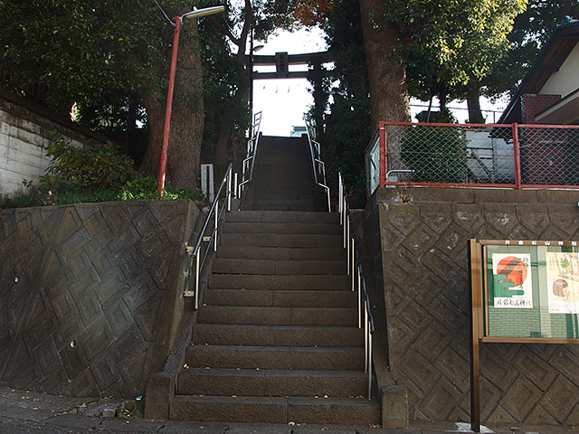 杉山神社(横浜市神奈川区片倉町)写真
