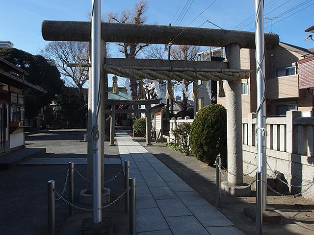 下丸子六所神社写真
