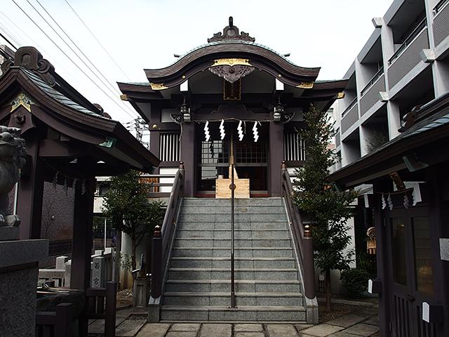 神楽坂若宮八幡神社写真