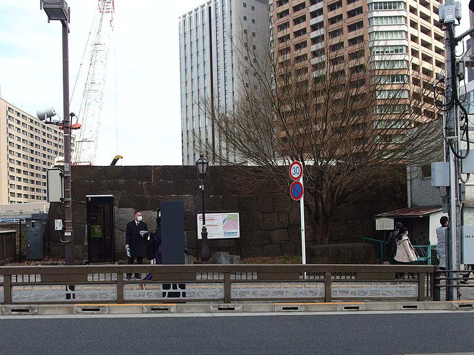 旧牛込御門跡(牛込見附跡)