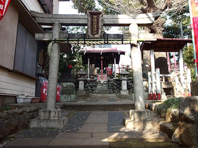 向陵稲荷神社写真