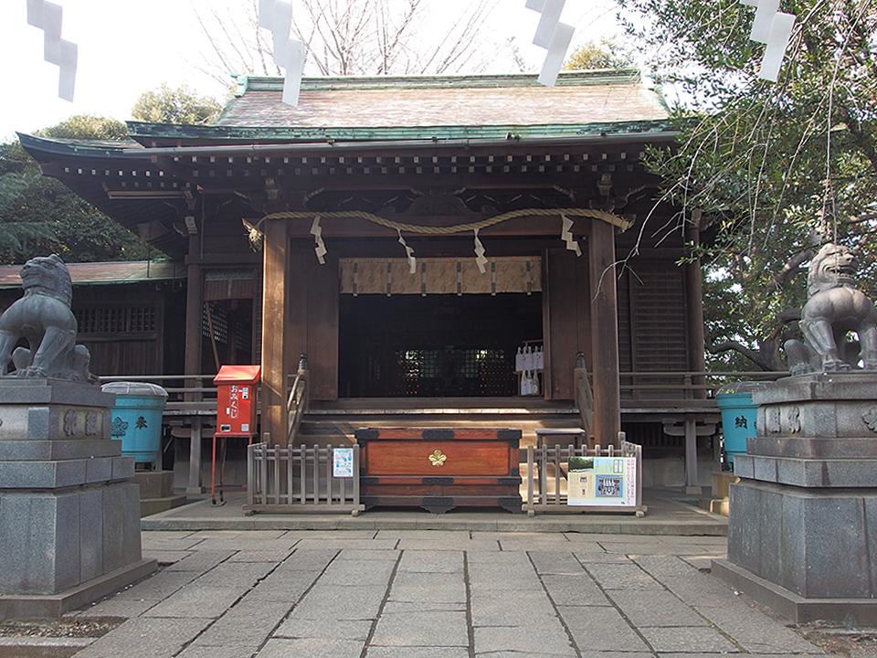 諏方神社(荒川区西日暮里)