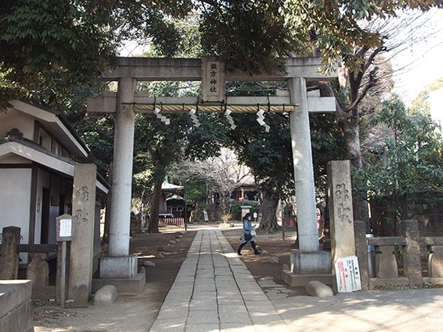 諏方神社(荒川区西日暮里)写真
