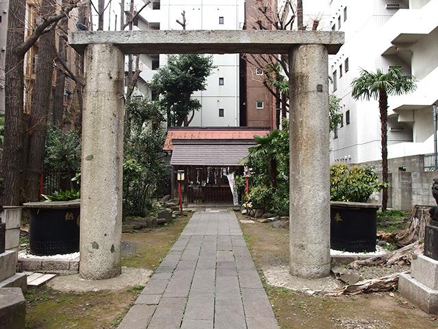 新橋鹽竈神社写真