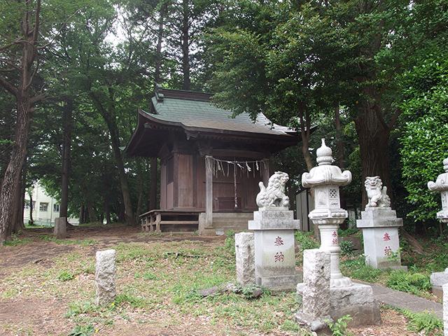 金刀比羅神社・八阪神社(横浜市緑区長津田町)写真
