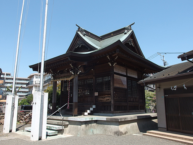竹ノ内金山神社写真