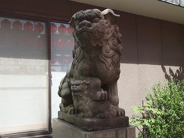 佃島住吉神社写真