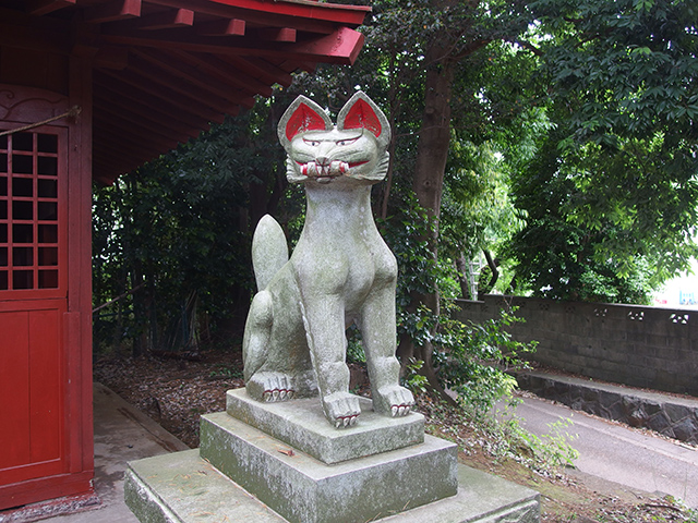 椿稲荷社(横浜市緑区長津田町)写真