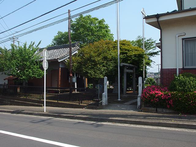 下長津田神社写真