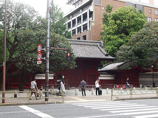 藤之森稲荷神社(文京区)写真