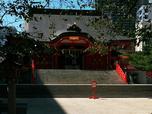 花園 神社 ご利益