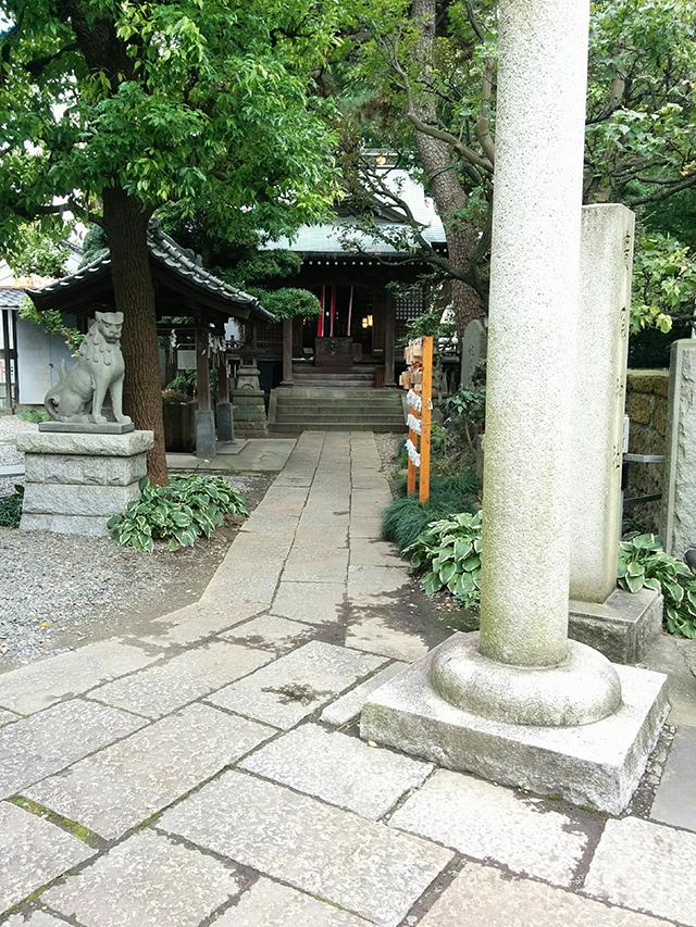 廣尾稲荷神社写真