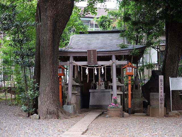 上目黒氷川神社写真