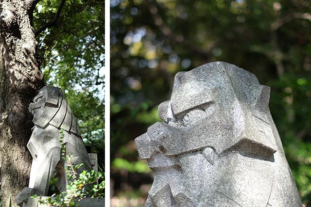 東郷神社狛犬