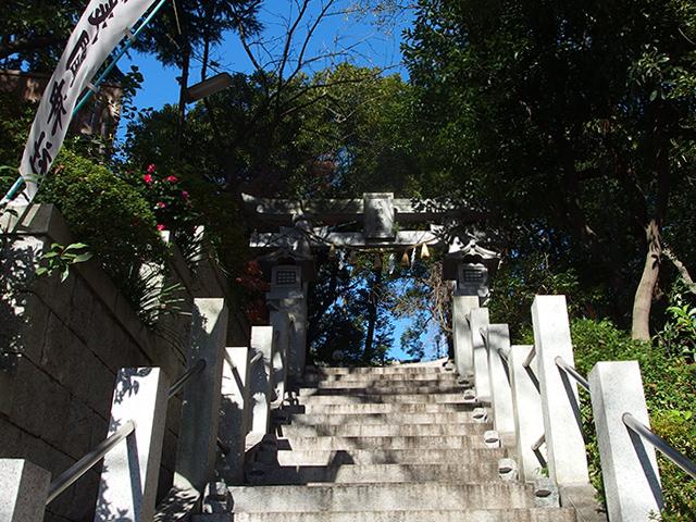 多摩川浅間神社写真