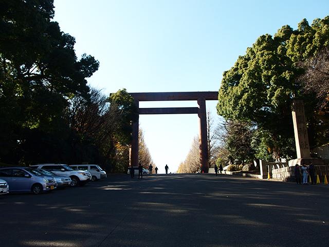 靖国神社写真