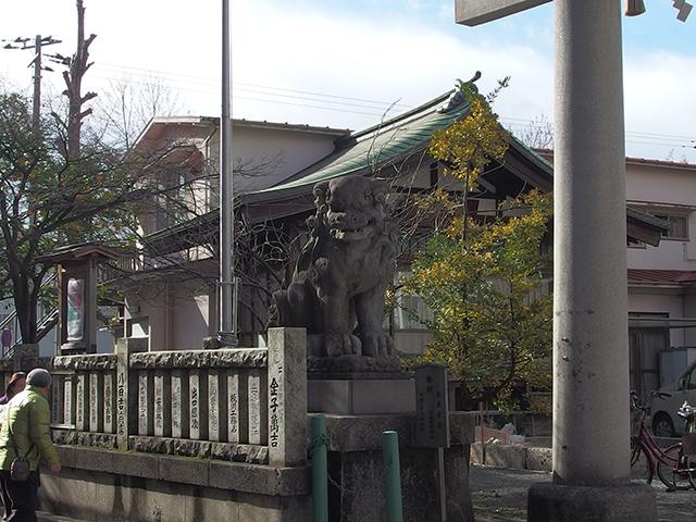 東神奈川熊野神社写真