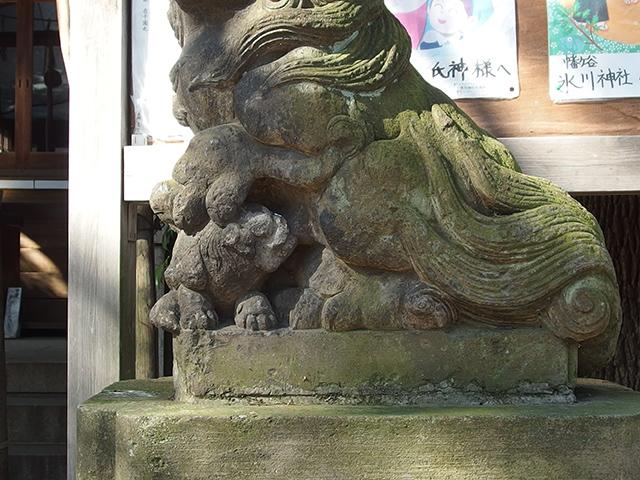 幡ヶ谷氷川神社写真
