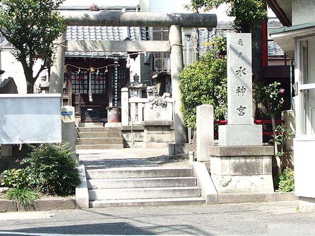 亀戸水神宮