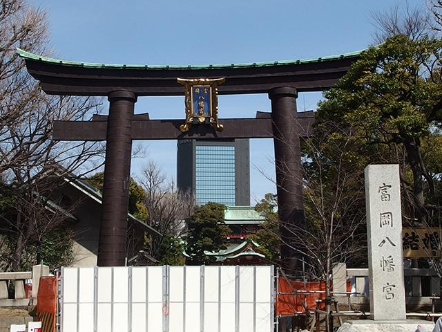 富岡八幡宮写真