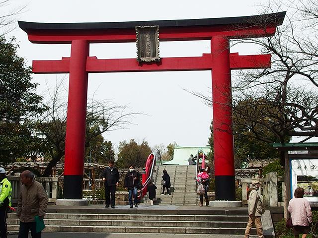 亀戸天神社写真
