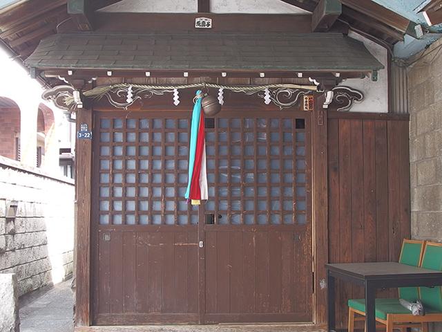 松下稲荷神社写真