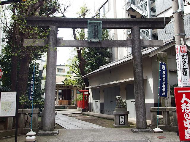 銀杏岡八幡神社写真