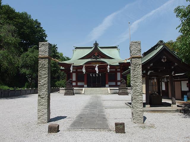 綱島諏訪神社写真